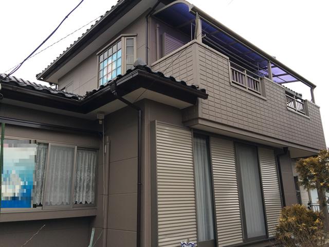 外壁塗装施行事例 函南町K様邸