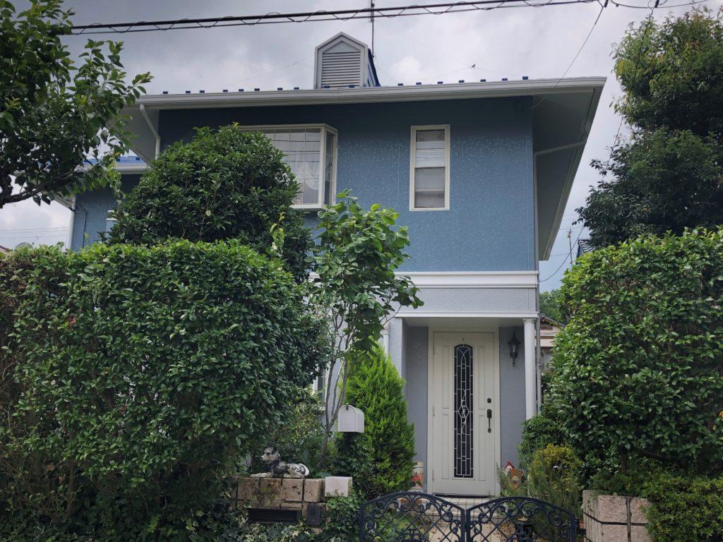 外壁塗装,屋根塗装工事 御殿場市 K様邸