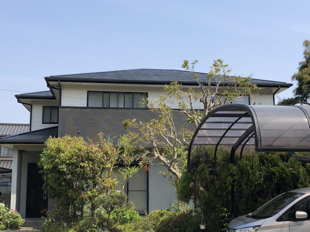 屋根塗装工事 伊豆の国市 O様邸