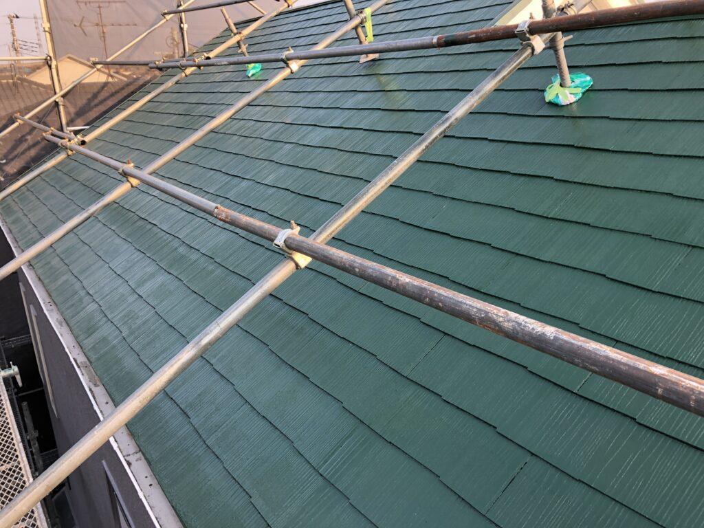 屋根塗装工事 富士市 M様邸